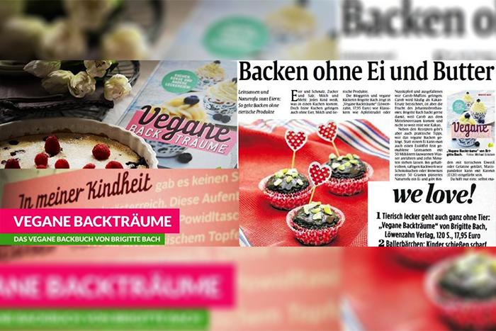 """B.B.'s Bakery und """"Vegane Backträume"""" in den Medien"""