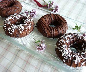 Schoko-Kokos-Donuts