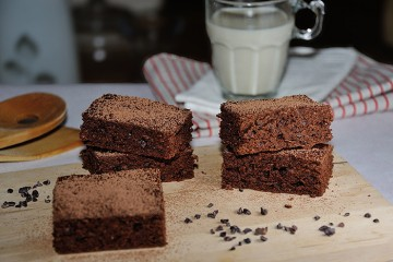 Mokka-Kakao-Brownies