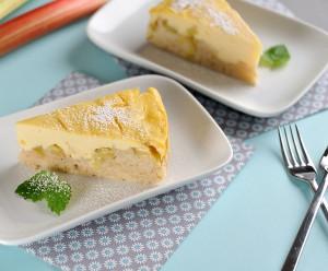 Rhabarber-Topfen-Kuchen
