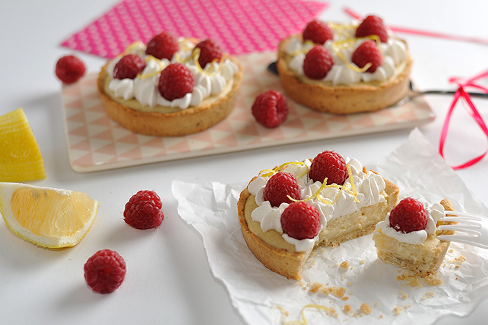 Zitronen-Wölkchen-Cheesecakes