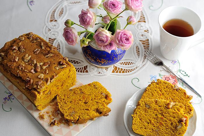 Kürbis-Chai-Kuchen