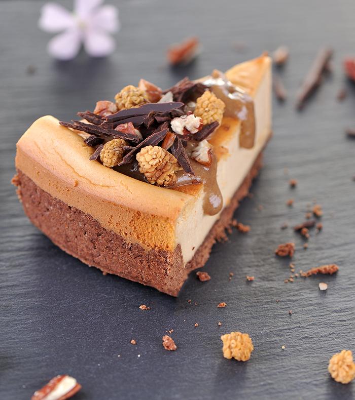 Erdnuss-Cheesecake