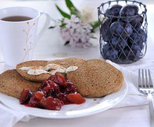 Buchweizen-Foniohirse-Pancakes