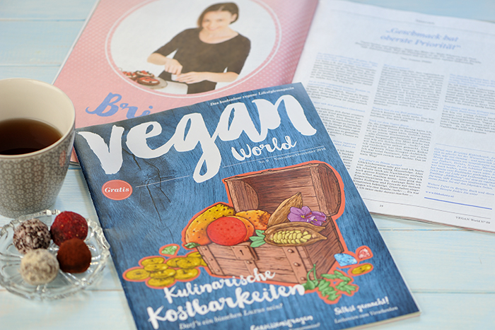 B.B.'s Bakery im Magazin Vegan World 2016
