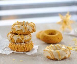 Sanddorn-Kokos-Donuts