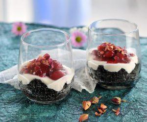 Schwarzer-Amaranth-Dessert