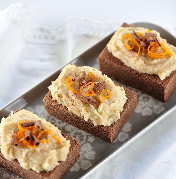 Exotische Brownies