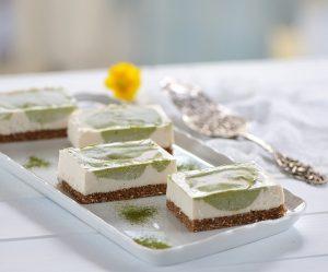 Matcha-Macadamia-Cheesecake
