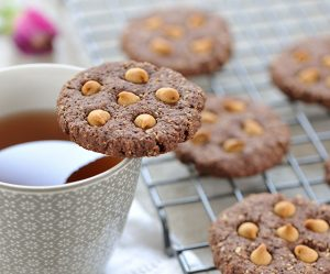 Schoko-Hafer-Cookies