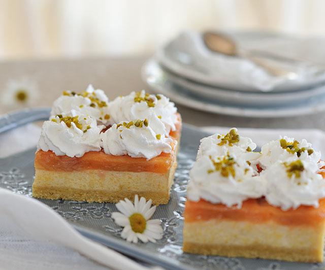 Rhabarber-Grieß-Kuchen