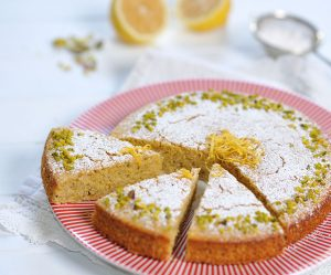 Polenta-Zitronen-Kuchen