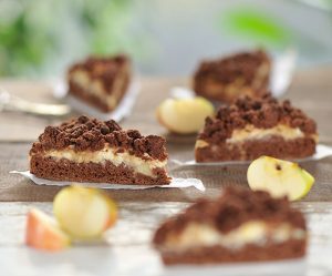 Schoko-Apfel-Streuselkuchen