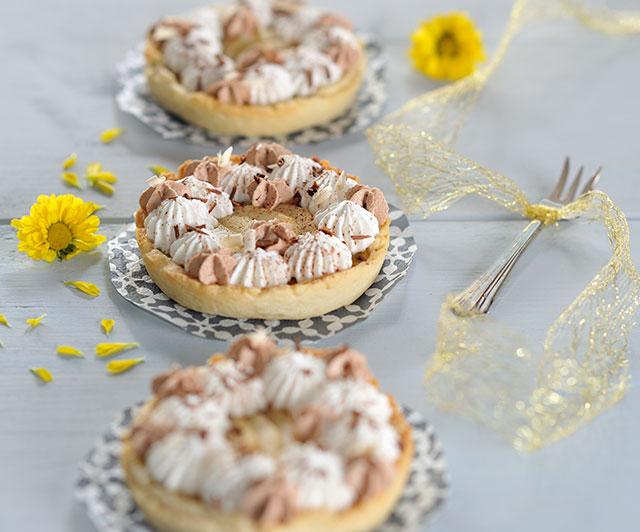 Birnen-Vanille-Tartelettes