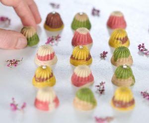 Multicolor-Mini-Schoko-Pralinen
