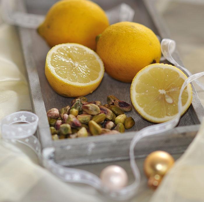 Zitronen-Pistazien