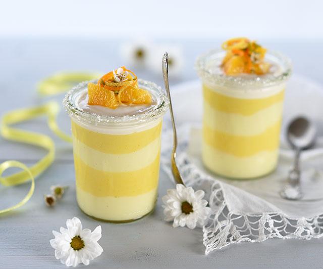 Orangen-Zitronen-Dessert
