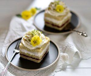 Zitronen-Limettencreme-Würfel