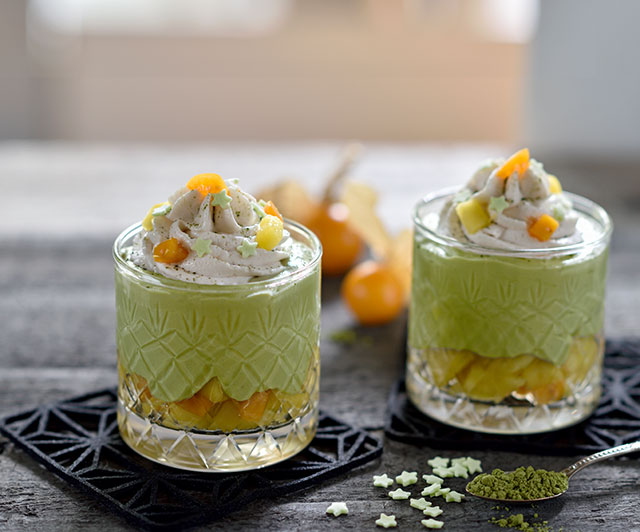 Matcha-Cheesecake-Mousse