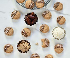Kokos-Dattel-Cookies
