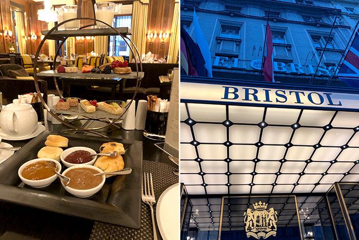 Vegane Patisserie mit fünf Sternen: Hotel Bristol in Wien