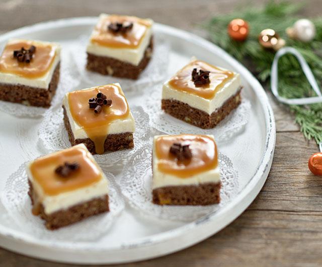Cheesecake-Lebkuchen-Brownies