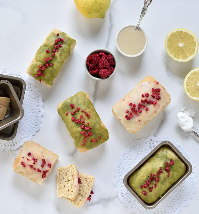 Mini-Zitronen-Tahini-Kuchen