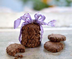 Teff-Schoko-Haselnuss-Kekse