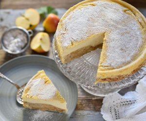 Apfelstrudel-Cheesecake